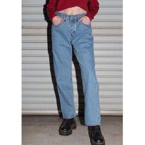 Brandy Melville medium wash wide leg eliana jeans